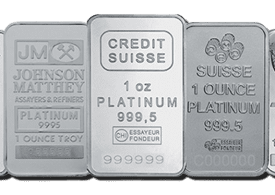 Various Platinum Bars