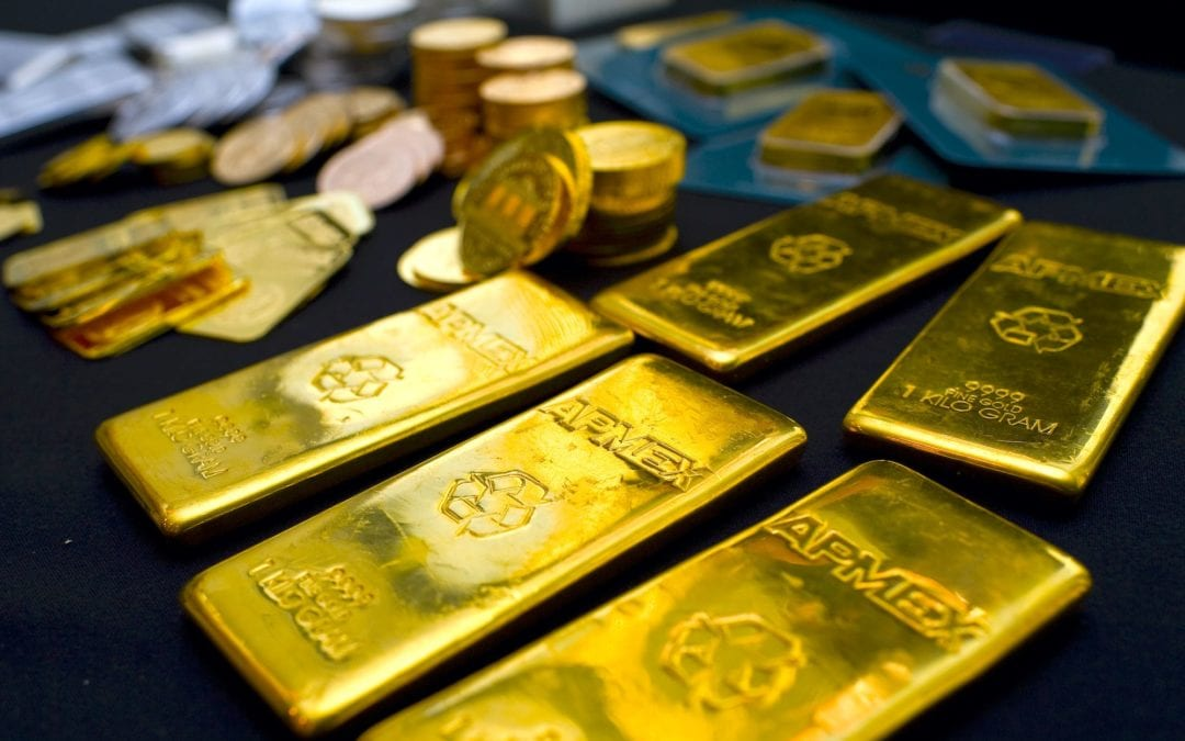 Money managers are getting nervous about gold