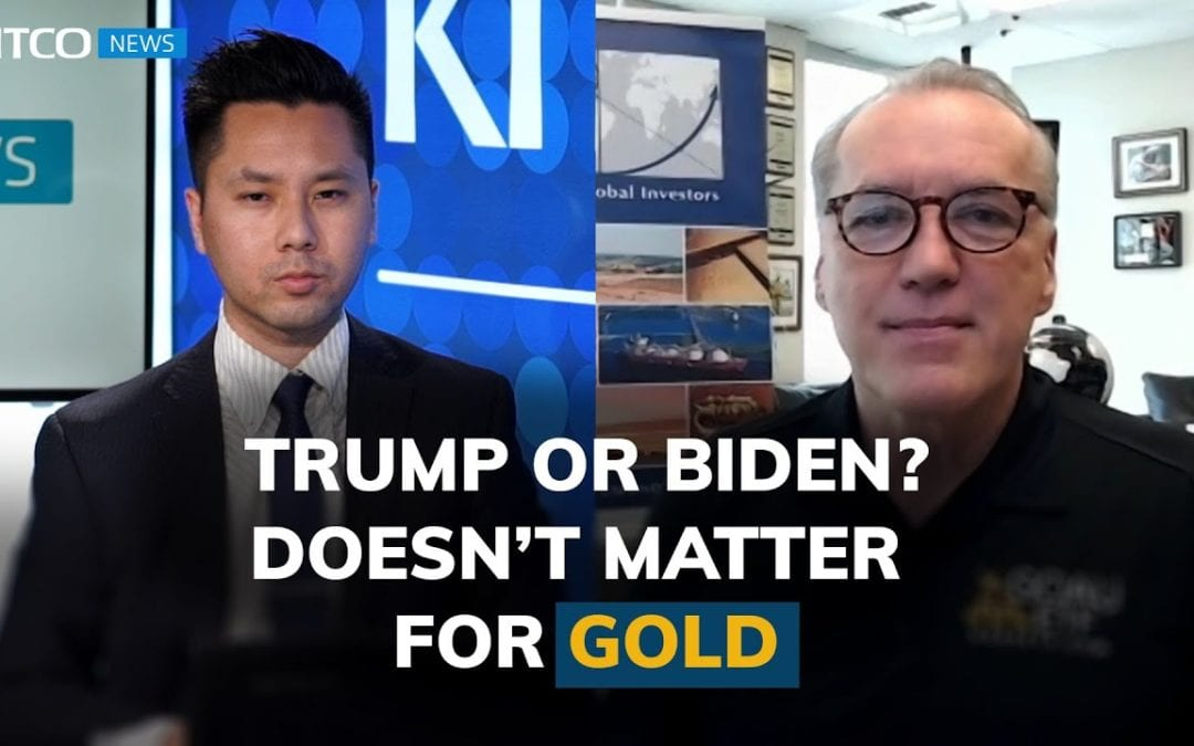 Gold price has bottomed, $4k target for either Trump or Biden victory – Frank Holmes