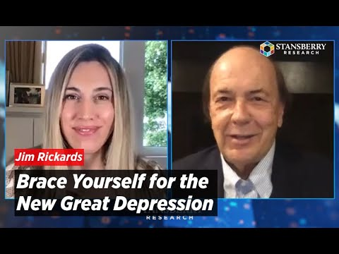 Jim Rickards Says Brace Yourself for the New Great Depression; Strong Hands Watching Gold