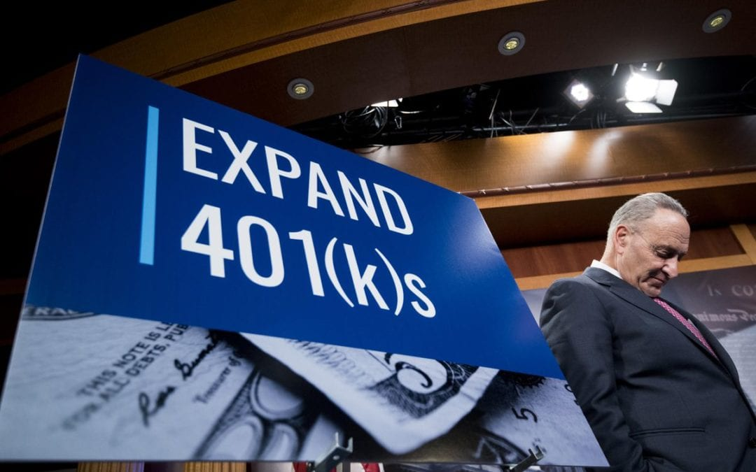 Big Changes May Be Coming To 401(k), IRA And Other Retirement Plans