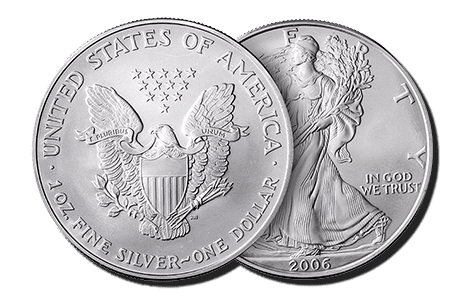 American Eagle silver coin that are eligible Self-Directed IRA precious metals investments