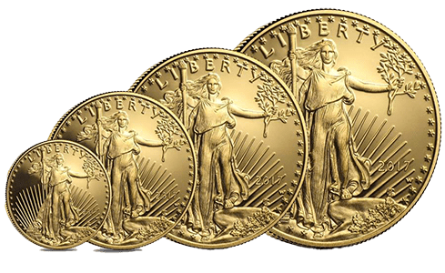 This is an example of a proof set of American eagle gold coins, which is eligible for self-directed IRA investments